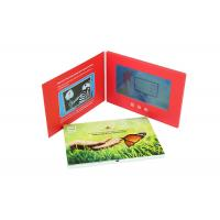 Buy cheap A5 7 Inch Advertising LCD Promotional Video Card Book With Customized Printing from wholesalers