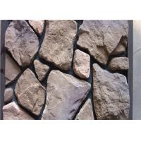 Scattered Artificial Rock Siding For Villas / Railway Station Steam - Cured Manufactures