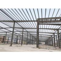 Buy cheap Industrial Prefabricated Steel Structure Building Light Steel Frame Construction from wholesalers