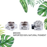 Buy cheap Organic Semi Permanent Makeup Pigments Microblading Manual Eyebrow Tattoo Ink from wholesalers