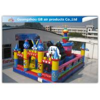 Buy cheap Durable Rabbit Childrens Large Inflatable Fun City Playground For Rental from wholesalers