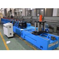 Buy cheap Upright Rack Roll Forming Machine With Hole Punching Yield Strength 250 - 550mpa from wholesalers