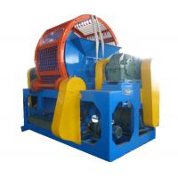 Buy cheap Vertical OTR Tire Shredder Machine Cast Steel Big Size 16PCS Block from wholesalers