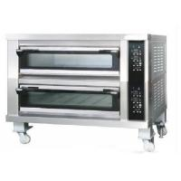 Buy cheap Two Deck Two Trays Commercial Bread Oven  Stainless Steel Deck Oven for Bread from wholesalers