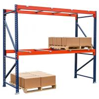 Buy cheap Customized Width Warehouse Metal Storage Racks /  Selective Pallet Racking from wholesalers