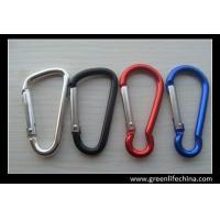 Buy cheap China wholesale metal high quality bike water bottle carrying holder colorful carabiners from wholesalers