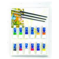 Buy cheap Rectangular Drawing Art Sets , Fashion Art Studio Paint Set For Adults from wholesalers