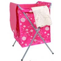 Buy cheap Polyester laundry basket with strong fame with lid promotion gift. from wholesalers