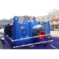 Buy cheap 0.55mm PVC Tarpaulin Small Plant Garden Inflatable Fun City Playground By Sewing from wholesalers