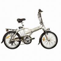 Buy cheap Electric Foldable Bike with 36V, 16A Lithium Polymer Battery, 20-inch, EN 1519 Certified from wholesalers