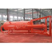 China ZYQ1200  Liquid Gas Separator use to provide pre-degassing to gas cut drilling liquid on sale