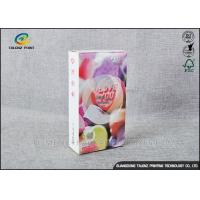 Buy cheap Embossing Paper Cosmetic Packaging Boxes CMKY Pantone Printing OEM Accepted product