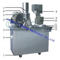 Buy cheap Wholesale Semi-Auto Capsule filling machine china manufactory package filling machine from wholesalers