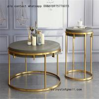 Buy cheap high quality stainless steel coffee table and chairs for hospitality and restaurant from wholesalers