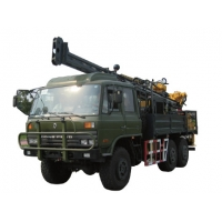 Buy cheap 132kw 56mm Dia 1000m Depth Mobile Drilling Rigs from wholesalers