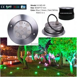 CE & ROHS Die-casting Aluminum IP67 Outdoor Garden Inground Lights Waterproof  Led Underground Light Manufactures