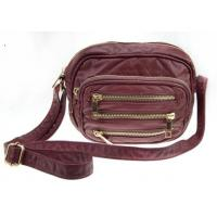 Buy cheap Spring / Summer Three-zipper On The Front Synthetic Crossbody Leather Bags For Women from wholesalers