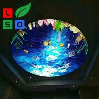 Buy cheap Light Box Advertising Displays Single Sided Ceiling Hanging Frame product