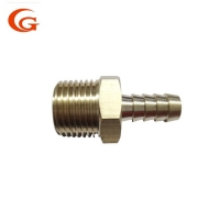 Buy cheap ASME B1.20.1 Male Barb Lead Free Brass Compression Fitting from wholesalers