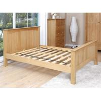 Buy cheap Simple Wood Bed Frame Eco -  Friendly , Timber Bed Base King Platform Bed Frame from wholesalers