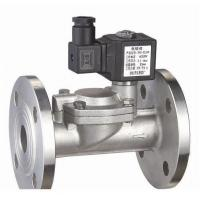 Water Air Gas Fuel NO Solenoid Valve 2 Way Pilot Operated Stainless Steel