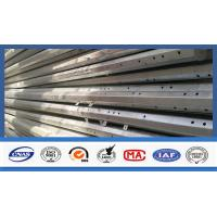 Buy cheap Burial Type Communication 40FT High Electric Power Pole Hot Dip Galvanised from wholesalers