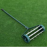 Buy cheap Outdoor Easy Rolling Garden Lawn Aerator Anti Rust Powder Coated Material from wholesalers