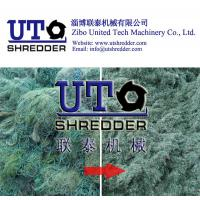 Buy cheap two engins shredder, plastic fishing net crusher, plastic recycling machine -high efficiency & low noise - United Tech from wholesalers
