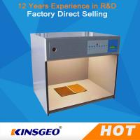China Electronic Colour Matching Cabinet , Colour Matching Light Box For Color Assessment Tes on sale