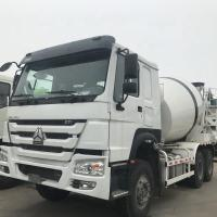 Wholesale Sinotruck Howo 12CBM Self Loading Concrete Mixer Truck 371HP Euro 2 White from china suppliers