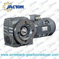China 3/4HP 0.55KW Helical-worm gear units Gear Reducer,Helical Worm geared motor Specifications on sale