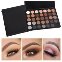 Wholesale 35 Color Mineral Makeup Eyeshadow Custom Makeup Palette Morphe Eyeshadow from china suppliers