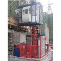 Buy cheap 1000kg Twin Cage Construction Hoist Elevator for Building Material from wholesalers