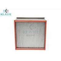 Wholesale Heat Baked Oven High Temperature Air Filter For Pharmaceutical Automobile from china suppliers