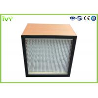 Wholesale 0.3um Porosity Clean Air Hepa Filter Fiberglass Medium Material Customized Size from china suppliers