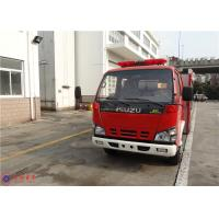Buy cheap 4x2 Drive Type Water Tanker Fire Truck ISO9001 Approved With Water Cooling Engine from wholesalers