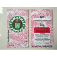 Wholesale Plastic ziplock  herbal incense packaging bag with different flavors from china suppliers