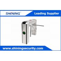Wholesale Card Reading Tripod Turnstile Gate / Half Height Turnstile For Office Visitor Management from china suppliers