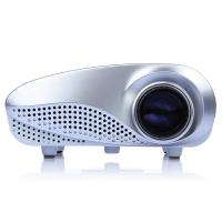 White Color Portable Led Projectors Led Full Hd Beamer 60 Lumens Manufactures