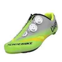 Buy cheap Double Dials Self Lace Cycling Shoes / Carbon Sole Durability Breathable Bike Shoes from wholesalers