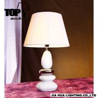 Buy cheap 2013 new chrome ceramic table lamps with shade S4A040 from wholesalers