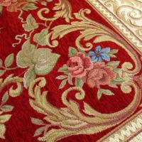 Buy cheap Luxury Style Computer Jaquard Machine Made Carpet Anti-Slip Backing Flower Rugs from wholesalers