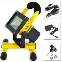 Buy cheap 110LM/W Waterproof LED Flood Lights Outdoor High Power 50w Rechargeable LED product