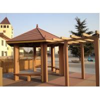 Buy cheap Waterproof WPC Construction , Weather-resist WPC Pergola For Outdoor Construction from wholesalers