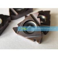 Buy cheap Standard American UN Carbide Threading Inserts With High Precision Thread Turning from wholesalers