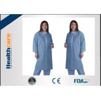 Wholesale Waterproof Medical Student Disposable Lab CoatLab JacketsFor Doctors Zip Closure from china suppliers