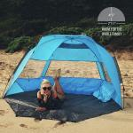 Buy cheap 3 Person 75''X51'' Pop Up Open Picnic Tent With Vent Windows from wholesalers