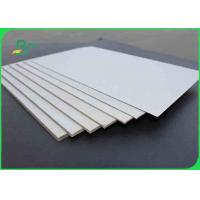 Buy cheap 1.5mm Advertising Double Sided Grey Board Paper / Chipboard For Storage Box from wholesalers
