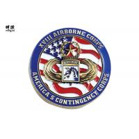 Buy cheap Soft Enamel Custom Challenge Coins 3D Embossed Design Zinc Alloy Material from wholesalers