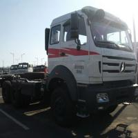 Buy cheap Military quality tractor head truck Beiben 2638 10 tyres truck head from wholesalers